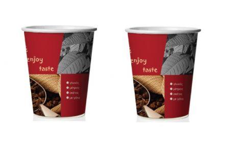 Χάρτινο Ποτήρι Καφέ Για Ζεστά Ροφήματα 16οz 50pcs (PF060-16)