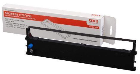 OKI Black Ribbon Cartridge for ML1190/ML1191 Dot Matrix Printers (1329828)