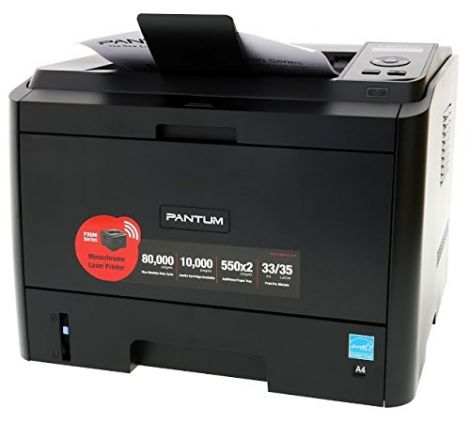 Pantum P3500DW Wireless A4 Mono Laser Printer PCL6 Postscript 3 Simatic HMI compatible (Black)