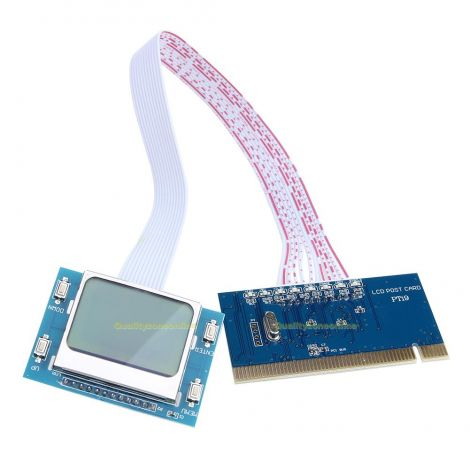 PCI Motherboard Diagnostic Tester Analyzer Post Card (PTI9)