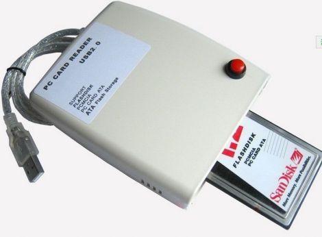 Flash Disk Memory Card Reader 68 Pin ATA PCMCIA USB 2.0