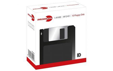 Primeon MF2HD 1.44 MB floppy disk 10 pieces (2761001)
