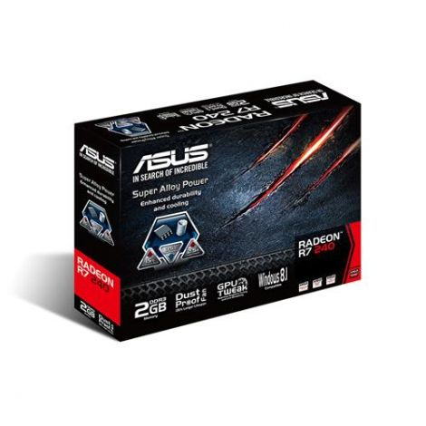 Asus AMD Radeon R7 240 2GB DDR3 Graphics Card (R7240-2GD3-L)