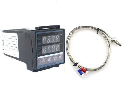 REX-C100 AC/100-240V 50HZ/60HZ Temperature Controller & 1K Type 1M Thermocouple