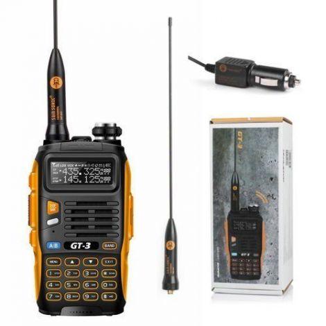 Baofeng Πομποδέκτης Dual Band UHF/VHF (GT-3 Mark II)