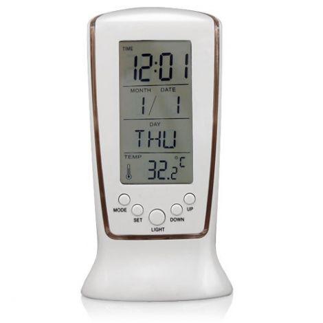 Ψηφιακό Ξυπνητήρι με θερμόμετρο & Ημερολόγιο