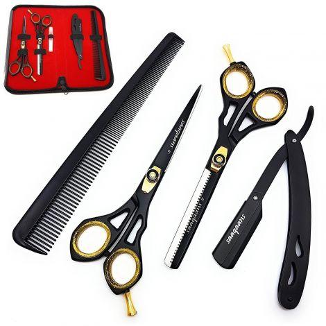 Saaqaans SQKIT Professional Barber Hairdressing Scissors Set (SQKIT)