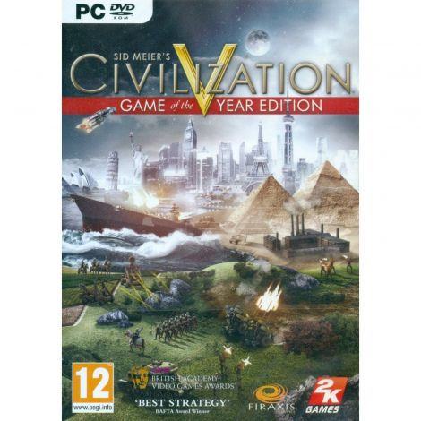 Sid Meiers Civilization V Game of the Year Edition (PC DVD)