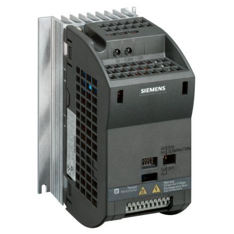 Siemens Sinamics G110 0,12KW 230V 1ph to 3ph Μονοφασικός Ρυθμιστής Στροφών (6SL3211-0AB11-2UA1)