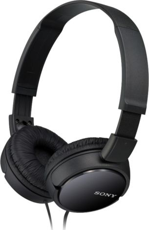 Sony MDR-ZX110 Headphones (Black)