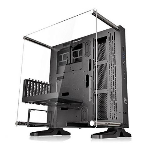 Thermaltake CA-1G4-00M1WN-00 P3 Mid Tower ATX Case with Side Acrylic for PC - Black