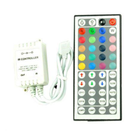 Ασύρματο Τηλεχειριστήριο Ταινiών LED RGB SMD5050 12V DC (C79A01)