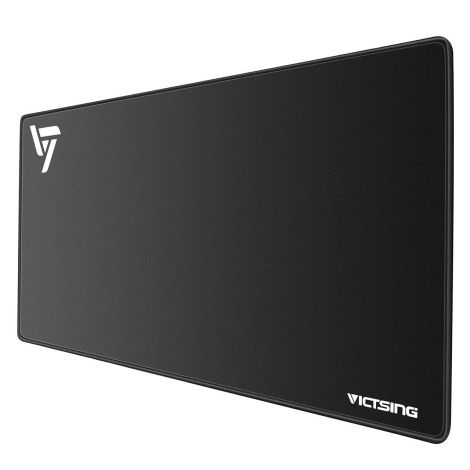 VICTSING Waterproof Mouse Pad Mat Large (800 x 400 x 2.5mm) Black (VTPC123AB)