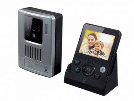 Scs Ασύρματη Έγχρωμη Ψηφιακή Θυροτηλεόραση με Κουδούνι (WDP-200)