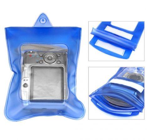 Yποβρύχια Aδιάβροχη Θήκη Φωτογραφικής Μηχανής (Μπλε)