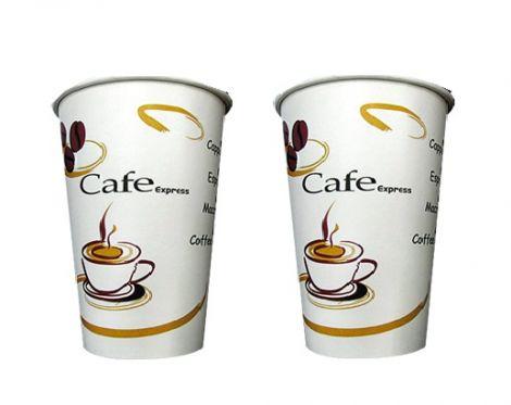 Χάρτινο Ποτήρι Διπλού Τοιχώματος Για Ζεστά Ροφήματα 8oz 25pcs (PFDW-0208)