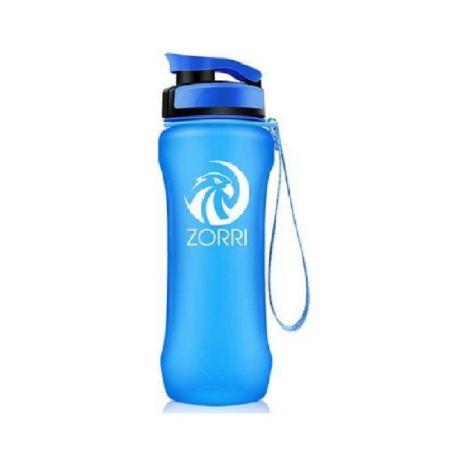 ZORRI Water Bottle BPA Free Leak Proof With Filter & Flip Top Lid Eco-Friendly Blue (600ml)