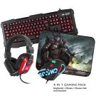 Sumvision LED Gaming Σετ Mat Pad Kane Pro Edition 4 in 1 Chaos Pack