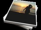 ΦΩΤΟΓΡΑΦΙΚΟ ΧΑΡΤΙ BLACK RED 10 Χ 15  240 ΓΡΑΜ 20 ΦΥΛΛΑ (BR00274)