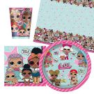 LOL! Surprise Party Tableware Pack for 8