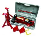 Hilka 82930240 Trolley Jack Kit in BMC, 2 Tonne, Red