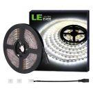 LE LED Strips Lights 5M, 3600 Lumen, 300 SMD 5050 LEDs, Daylight White, 12V [Energy Class A+]