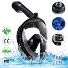 Infinitoo Full face diving snorkel mask with 180° field of view (L-XL)
