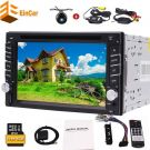 Universal Double Din 6.2 inch Capacitive Touchscreen with 5 spots car radio