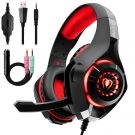 Gaming Headset for PS4, Beexcellent Comfort Noise Reduction Crystal Clarity 3.5mm LED (GM-1)