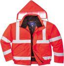 Portwest Hi-Vis Μπουφάν Κόκκινο Large (S463RERL)