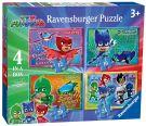 Ravensburger 6917 PJ Masks 4 διαφορετικά παζλ - 12, 16, 20 και 24 κομμάτια