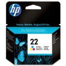 HP Μελάνι Έγχρωμο 22 Inkjet 5 ml (C9352AE ABD)