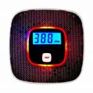Carbon Monoxide Gas Alarm with Voice Warning, CO Alarm with LCD Digital Display (Black)