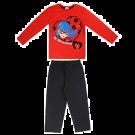 Miraculous LadyBug e Cat Noir Girls' Pyjama Set - Red - 3-4 Years(98/104 cm)