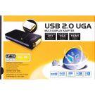 Αντάπτορας UGA DVI Αρσενικό HDMI Αρσενικό VGA Θηλυκό σε USB 2.0