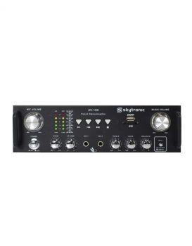 SkyTronic AV-100 Stereo Karaoke amplifier MP3