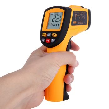 Ψηφιακό Υπέρυθρο Θερμόμετρο Laser (GM900)