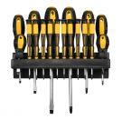 Eighteen-piece screwdriver set with holder FIELDMANN FDS 5001-18R