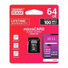 GOODRAM Memory card M1AA micro SD 64 GB CLASS 10 UHS-1 with adapter