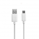 DeTech USB Type-C Data cable 2A White - 1m (18288)