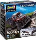 Revell Control 24710 Technik DIY 1/20 RC Car Dakar with 27 Mhz remote control (Red)
