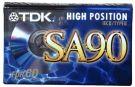 TDK Sa90 Audio  cassette tape