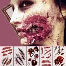 Tattoos Scars, Scratches, Blood Stickers 16pcs