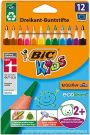 Bic Kids Evolution Triangle 12 Colouring Pencils (8297359)