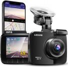 AZDOME DashCam with 4K Resolution, Car Camera WiFi GPS and Loop Recording (IT-G63D)