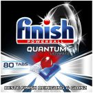 Finish Quantum Ultimate Dishwasher Tablets Economy Pack with 80 Finish Tabs