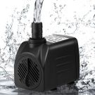 Cadrim Submersible Water Pump with 2 Nozzles 1200L/H 25W