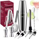 INNOPLUS Cocktail Shaker Set Stainless Steel (12pcs)