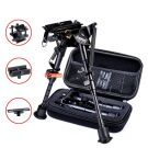 zeadio 6-9 inches Swivel Pivot Tiltable Bipod with Sling Mount, 3 Adapters and Protective Case