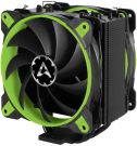 Arctic Freezer 50 TR - Dual Tower CPU Cooler with 8 Heat Pipes for AMD Ryzen with A-RGB (Green)